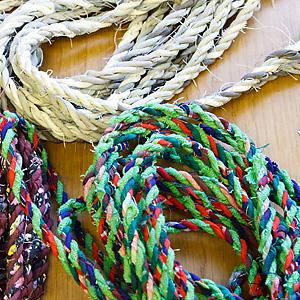 Rep gjorda av mattrasor