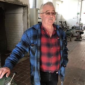 Bengt, en av delägarna till Ullkraft AB