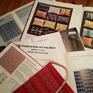 18 Vävböcker med Hålkrus 300